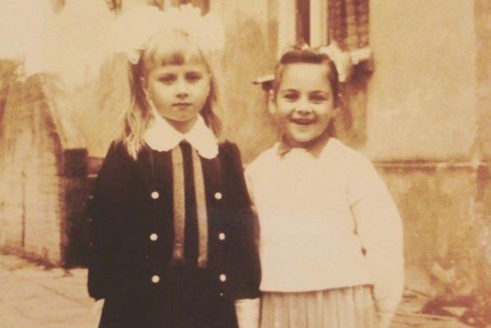 Sandra Žutautienė su seserimi (nuotr. Instagram)