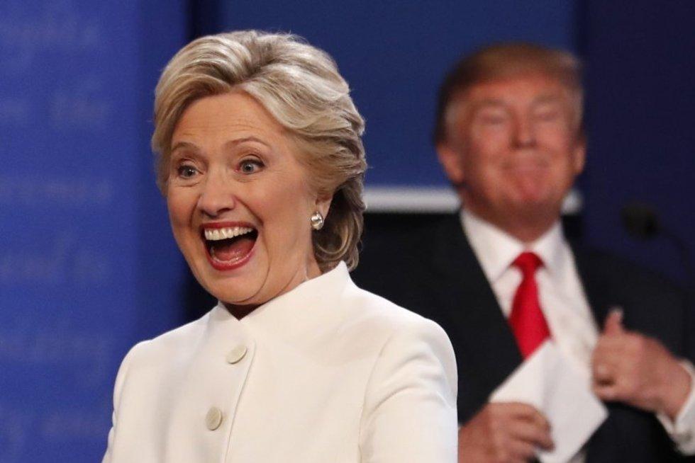 Paskutinieji Clinton ir Trumpo debatai: keturi pagrindiniai momentai (nuotr. SCANPIX)