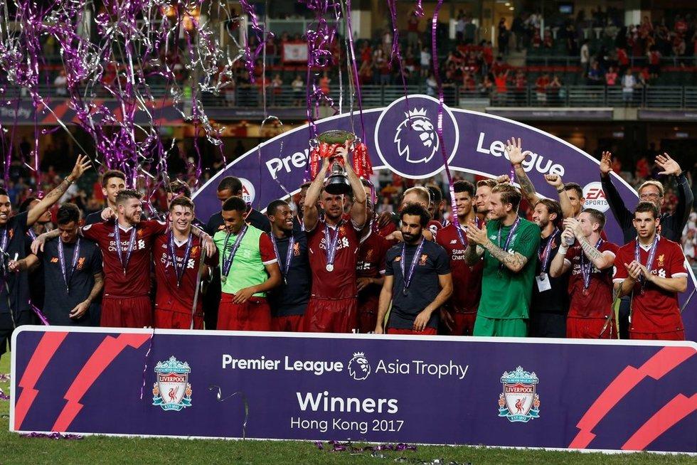 """Liverpool"" – ""Leicester City"" 2:1 (nuotr. SCANPIX)"