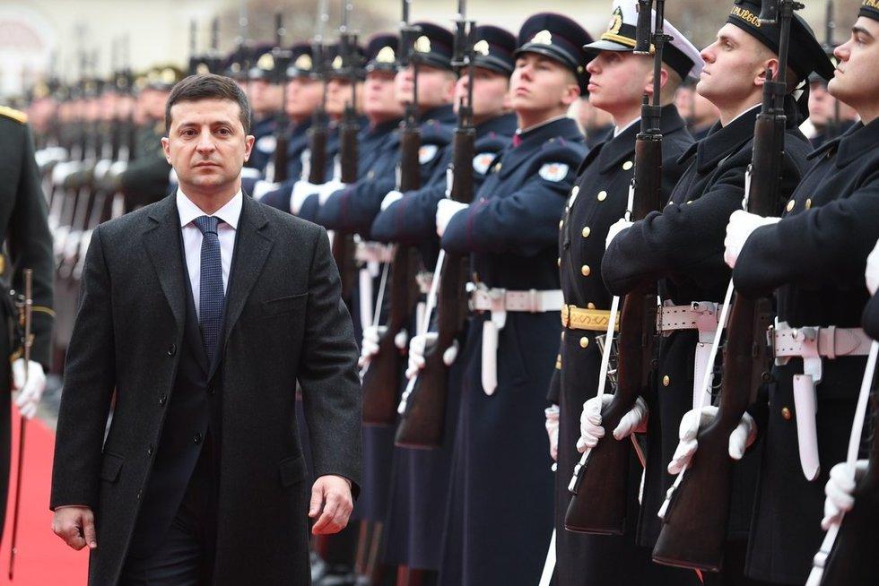 Volodymyras Zelenskis (nuotr. Fotodiena/Matas Baranauskas)