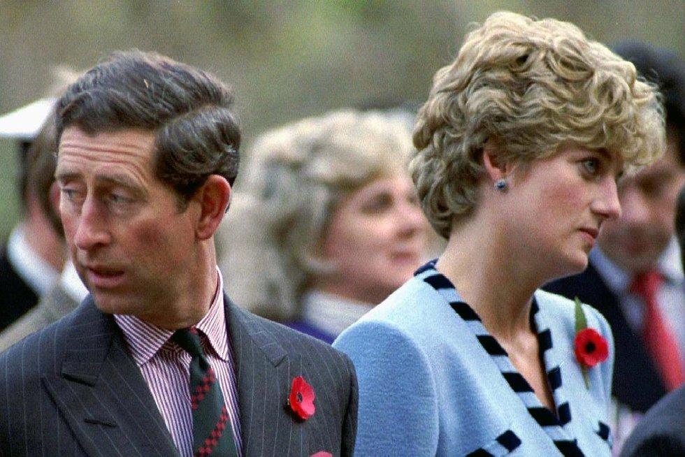 Princesė Diana ir princas Charlesas (nuotr. SCANPIX)