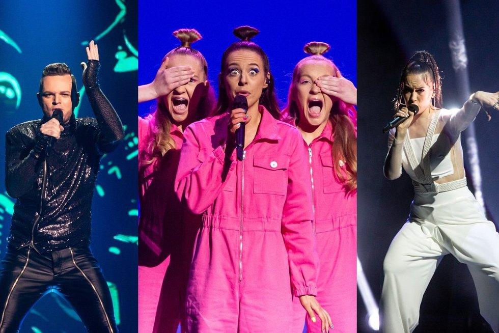 """Prasidėjo trečiasis """"Eurovizijos"""" atrankos filmavimas: sceną užkariauja žinomi veidai (Fotobankas)"""