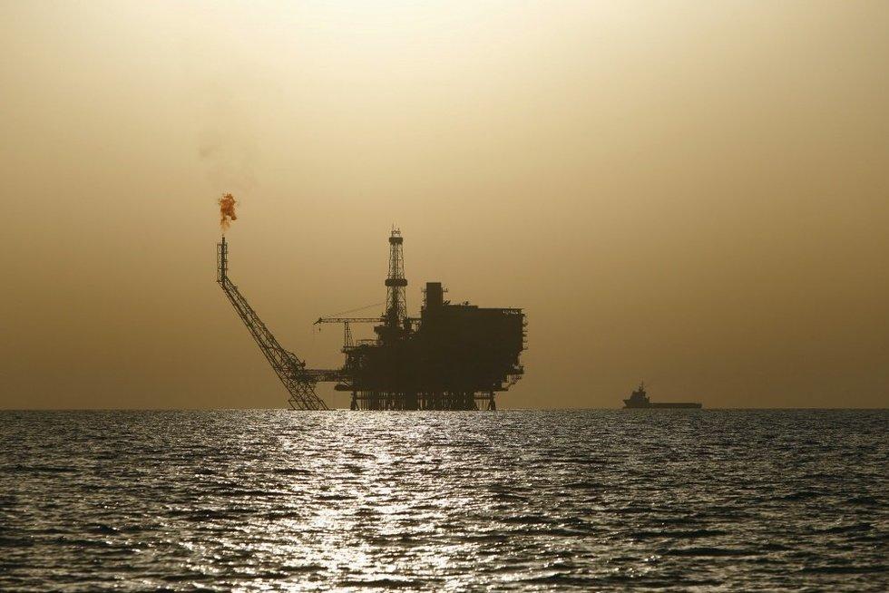 Naftos telkinys (nuotr. SCANPIX)