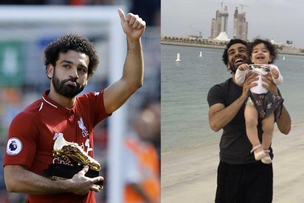 """Nepatikėsite, ką išdarinėjo M. Salah duktė: siautėjo visas """"Anfieldas"""""""
