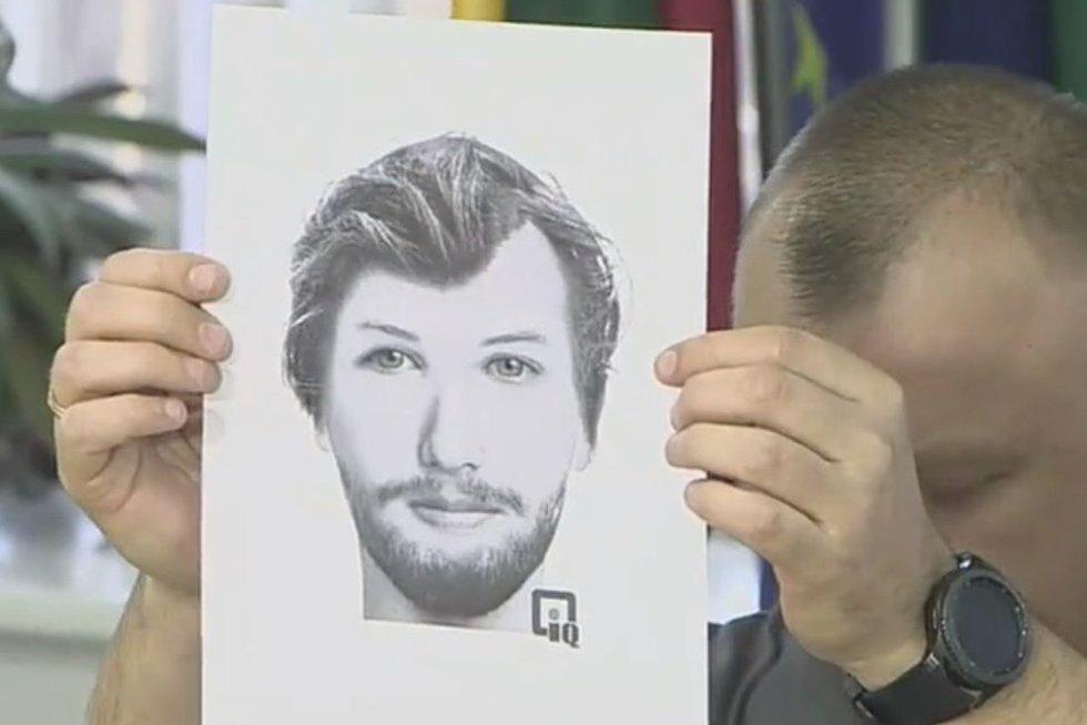 fotorobotas asmens, kuris gali turėti reikšmingos informacijos (nuotr. Policijos)