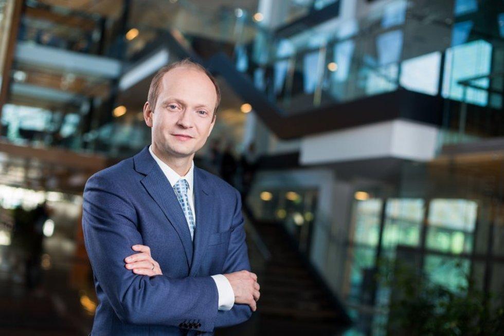 """""""Swedbank"""" Lietuvoje vyriausiasis ekonomistas dr. Nerijus Mačiulis (nuotr. asm. archyvo)"""