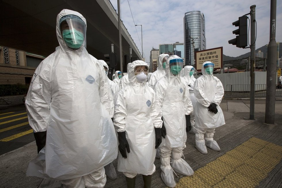 Mįslingas virusas Kinijoje (nuotr. SCANPIX)
