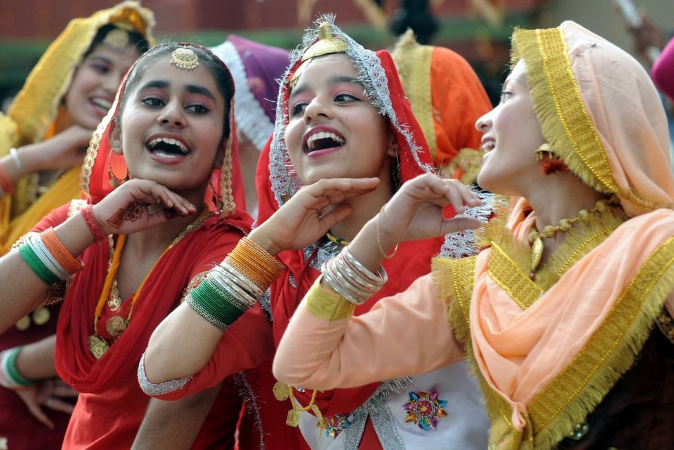 Indijos merginos (nuotr. SCANPIX)