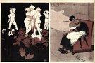 XX a. pradžios karikatūra, pašiepianti Vatikano kunigų ištvirkimą (nuotr. Vida Press)
