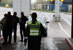 Pasienyje su Baltarusija sulaikyti du nelegalūs migrantai