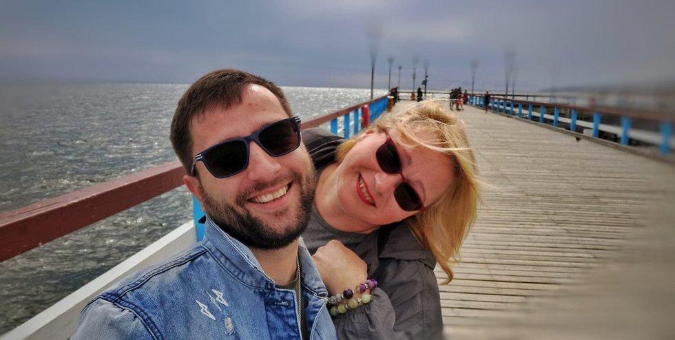 Mantas Vygantas ir Jolanta Naruševičiūtė