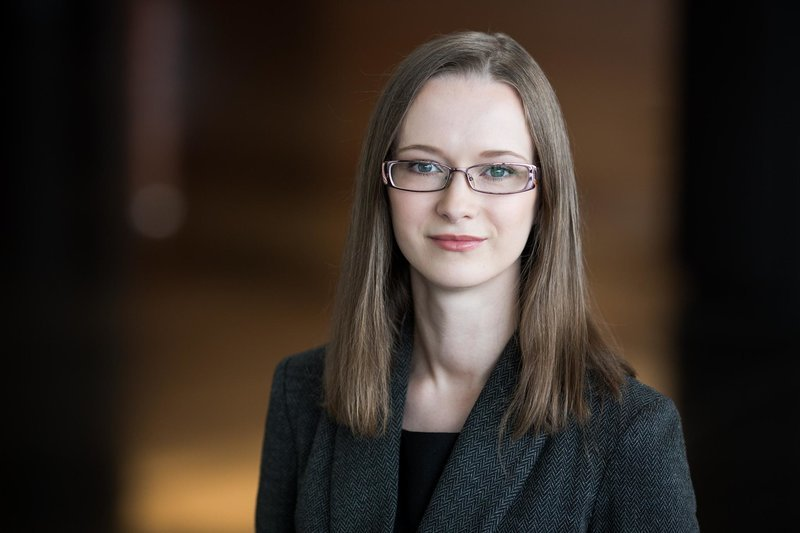 """Swedbank"" vyresnioji ekonomistė Vaiva Šečkutė (nuotr. Swedbank)"