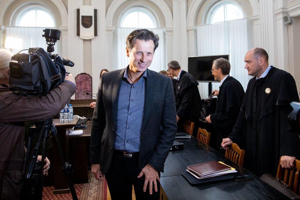 """""""MG Baltic"""" politinės korupcijos byloje planuojama tęsiama Mockaus apklausa (nuotr. Fotobankas/Irmantas Gėlūnas)"""