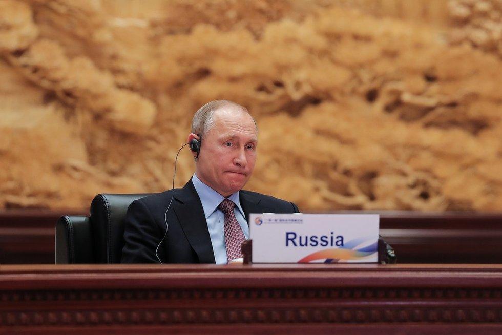 Rusijos prezidentas Vladimiras Putinas lankėsi Kinijoje (nuotr. SCANPIX)