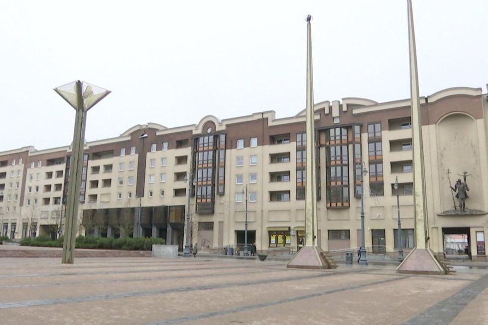 Seimo viešbutis (nuotr. stop kadras)