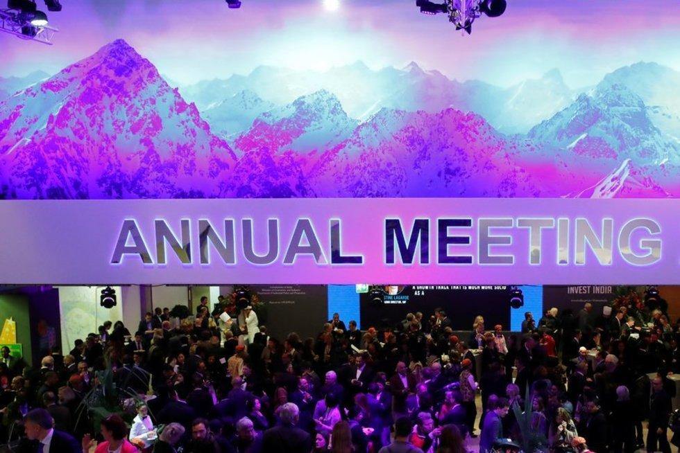 Pasaulio ekonomikos forumas (nuotr. SCANPIX)