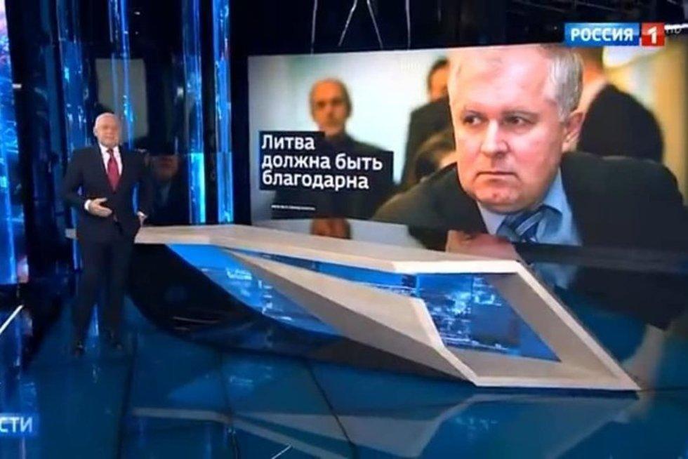 Rusiška propaganda  (nuotr. stop kadras)