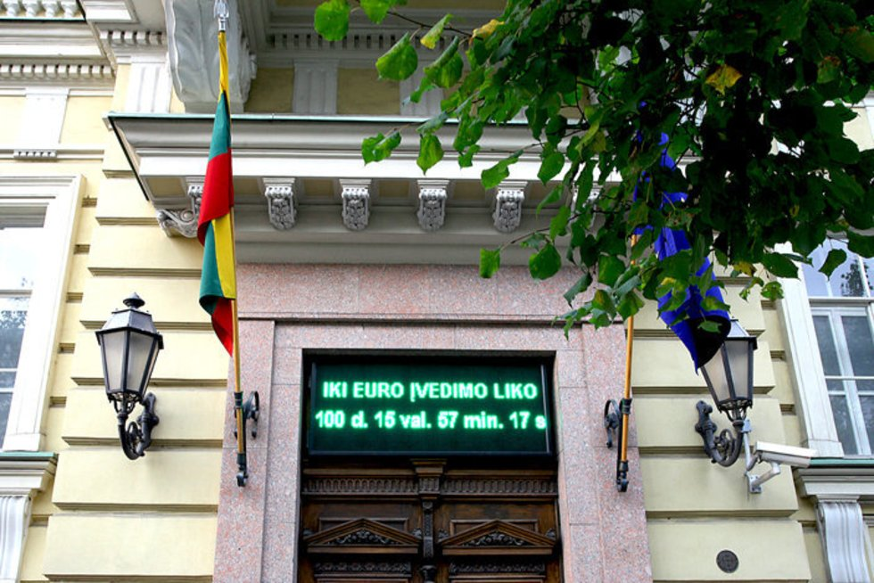 Asociatyvi nuotrauka (nuotr. Lietuvos banko)