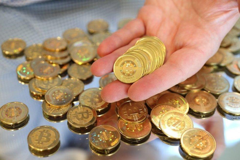 Bitcoin (nuotr. SCANPIX)