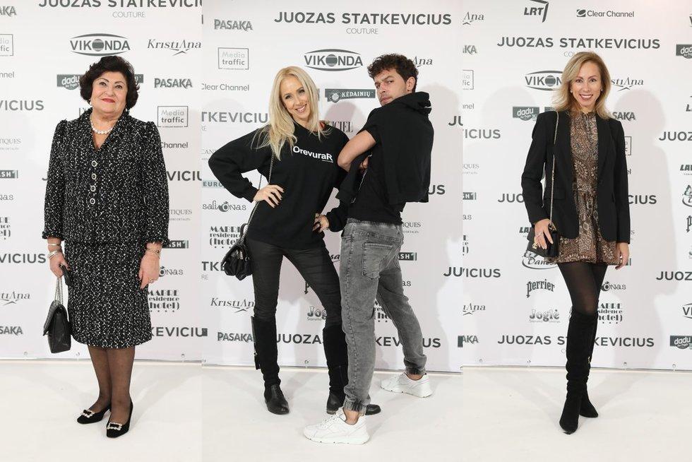 Juozo Statkevičiaus madų šou svečiai (tv3.lt koliažas)