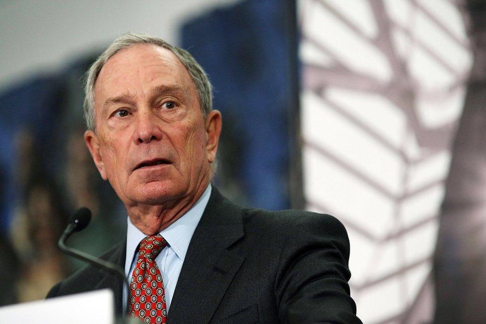 Michaelas Bloombergas kelia sumaištį JAV prezidento rinkimų estafetėje  (nuotr. SCANPIX)