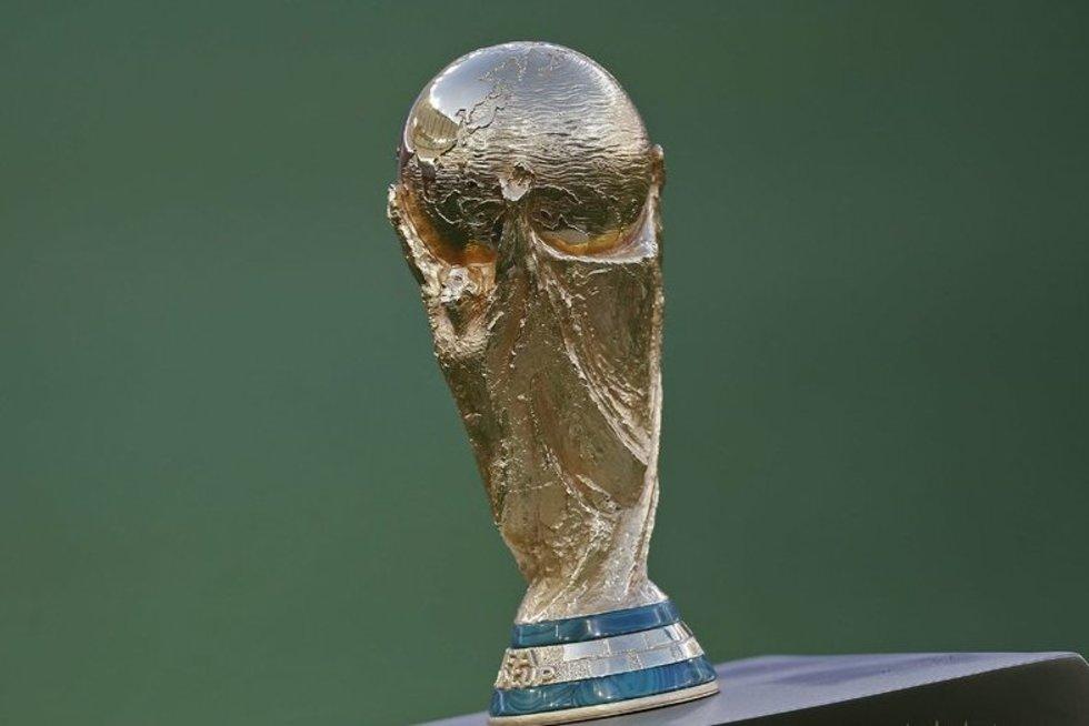 FIFA pasaulio čempionato taurė (nuotr. SCANPIX)