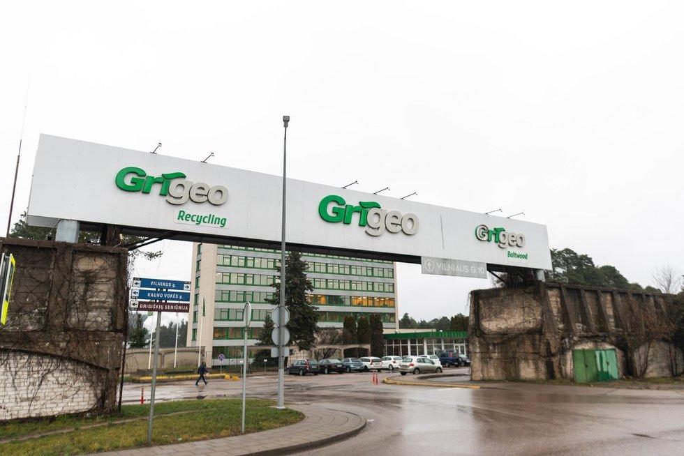 """Aplinkosaugininkai aplankė """"Grigeo"""" Grigiškėse"""