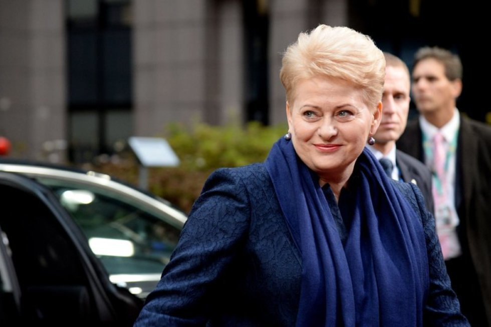 Dalia Grybauskaitė (nuotr. AFP/Scanpix)
