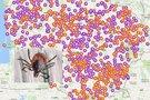 Erkių platinamų ligų žemėlapis