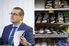 Skvernelio patarėjas ėmėsi lyginti sūrelių kainas  (tv3.lt fotomontažas)