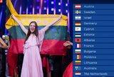"""To nesitikėjote: atskleidė """"Eurovizijos"""" pusfinalių balsus – I. Zasimauskaitės vieta nustebins"""
