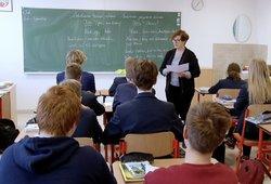 Elektrėnuose dėl koronaviruso baimės uždaryta mokykla: prastai pasijuto mokytojas