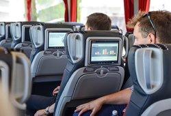 """Estijoje koronavirusu užsikrėtęs vyras keliavo """"Lux Express"""" autobusu"""