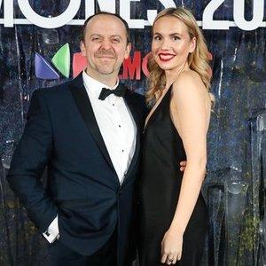 Aktorius Žiurauskas vedė 17 metų jaunesnę mylimąją