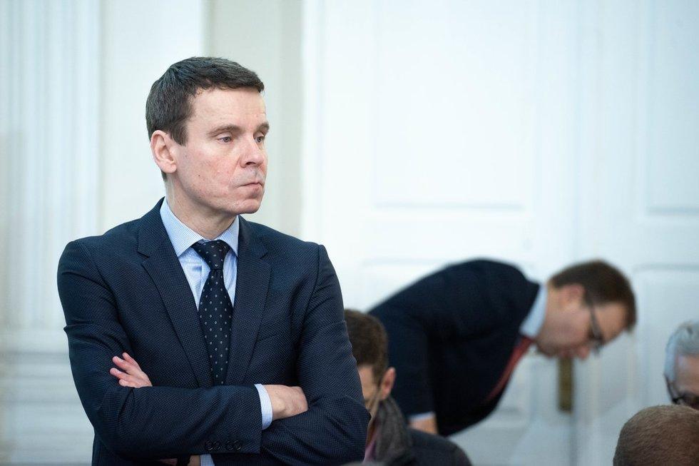"""""""MG Baltic"""" byloje tęsiamos apklausos (nuotr. Justinas Auškelis/Fotodiena)"""