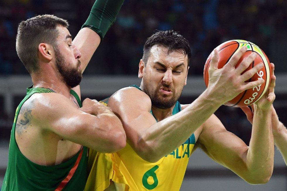 Rio 2016 ketvirtfinalis: Australija - Lietuva (nuotr. SCANPIX)