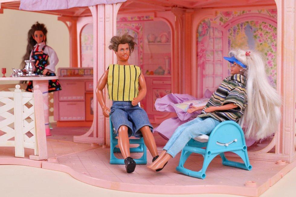 """Indrės Kavaliauskaitės """"Barbie"""" namas (M. Vizbaro nuotr.)"""