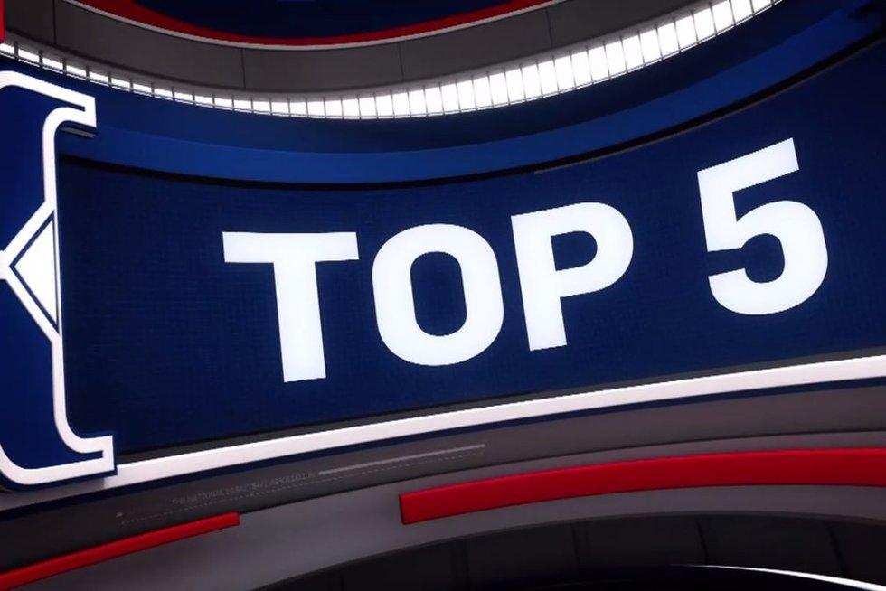 TOP 5 (nuotr. stop kadras)