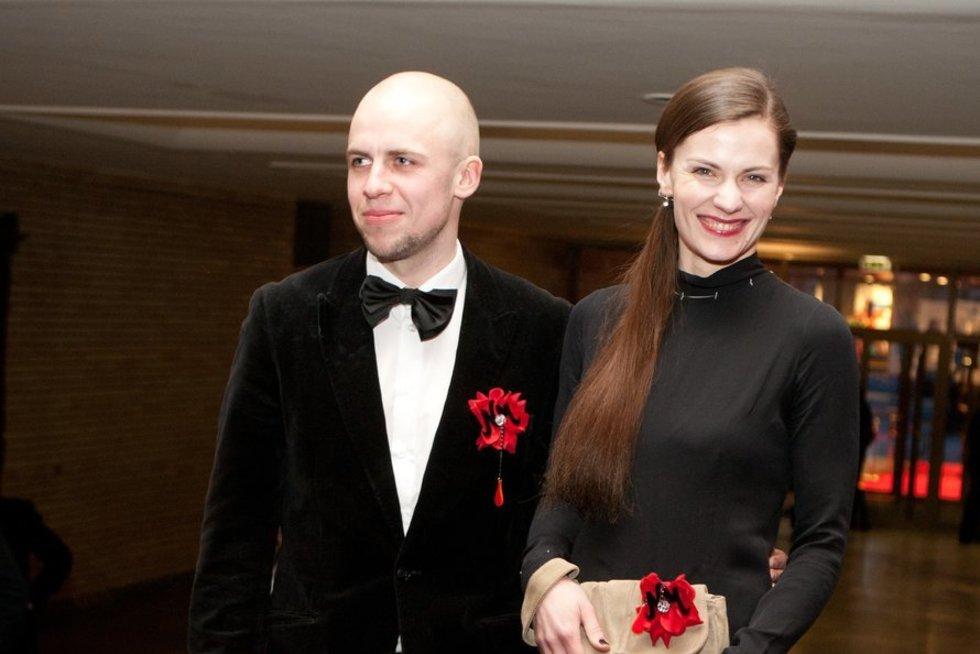 Vidas Bareikis ir Jurga Šeduikytė (Fotobankas)