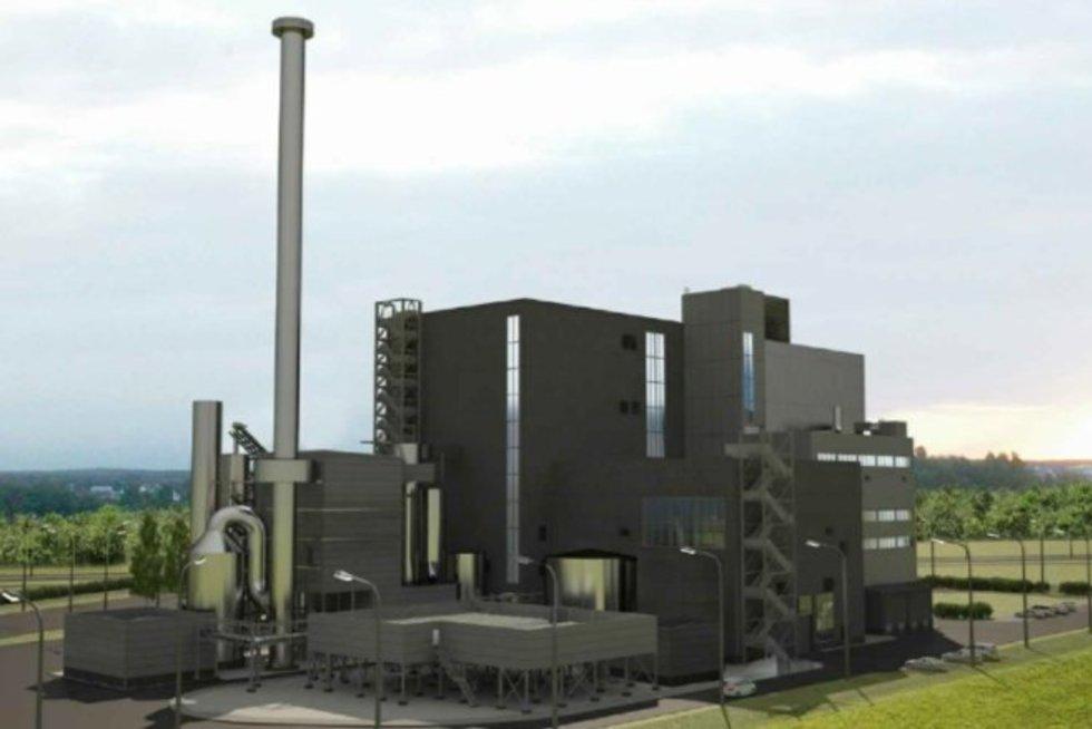 Kauno kogeneracinė jėgainė (Nuotr. Lietuvos energija)