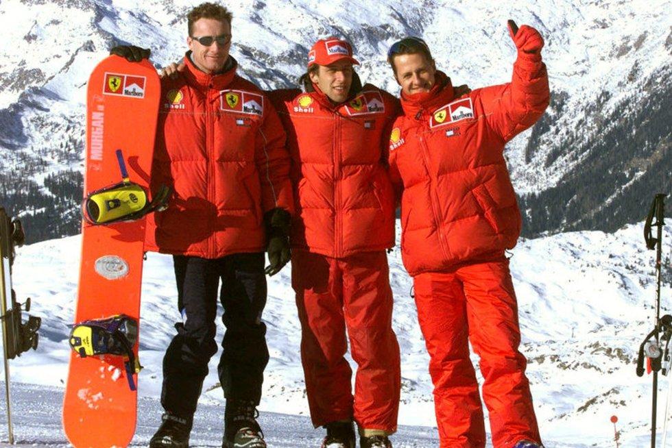 M. Schumacheris prieš traumą (nuotr. Alloverpress.ee)