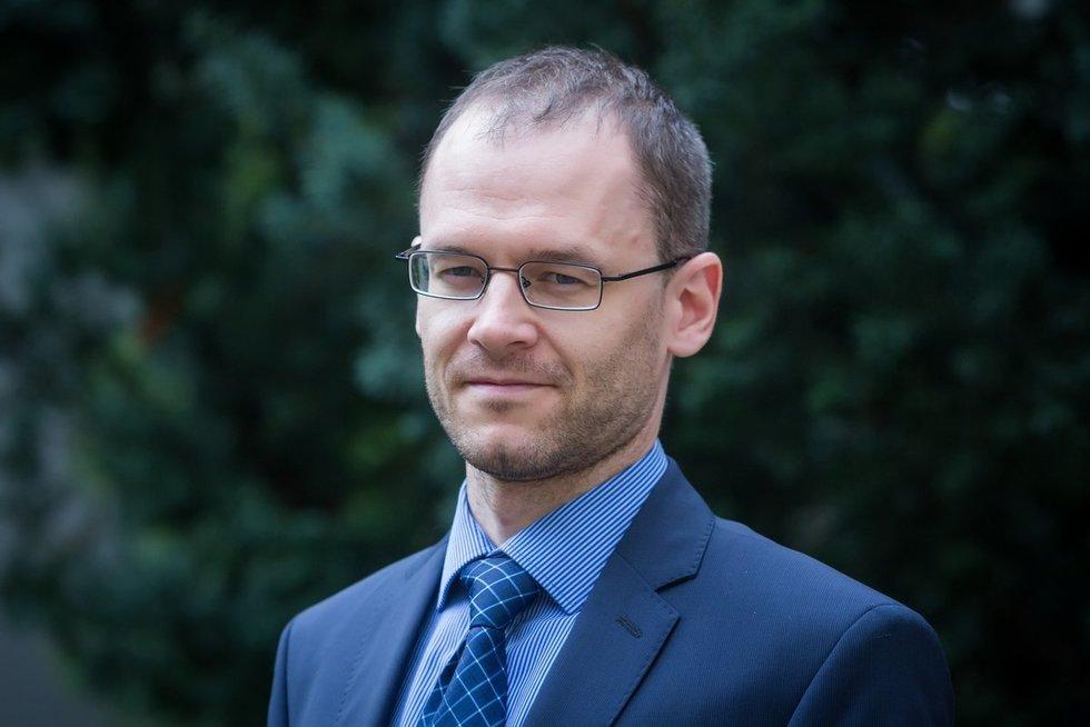 Tomas Šiaudvytis (nuotr. Lietuvos banko)