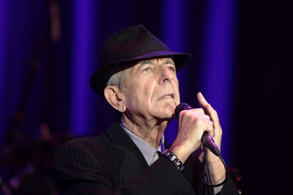 Leonardas Cohenas (nuotr. SCANPIX)