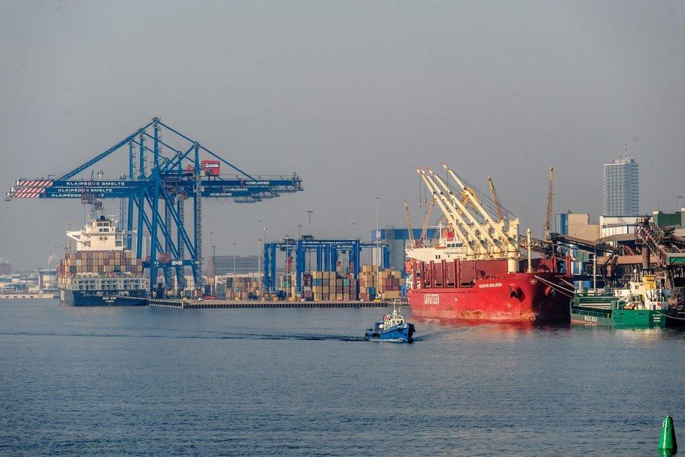 Klaipėdos jūrų uostas (Algirdas Kubaitis/Fotobankas)