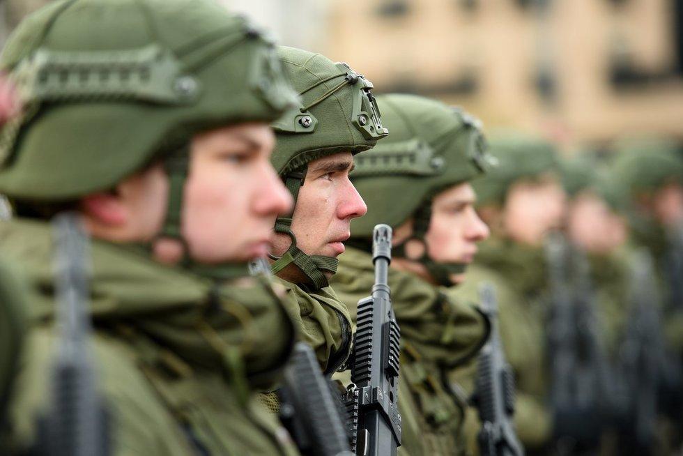 Lietuvos kariuomenė (nuotr. Fotodiena.lt/Mato Baranausko)