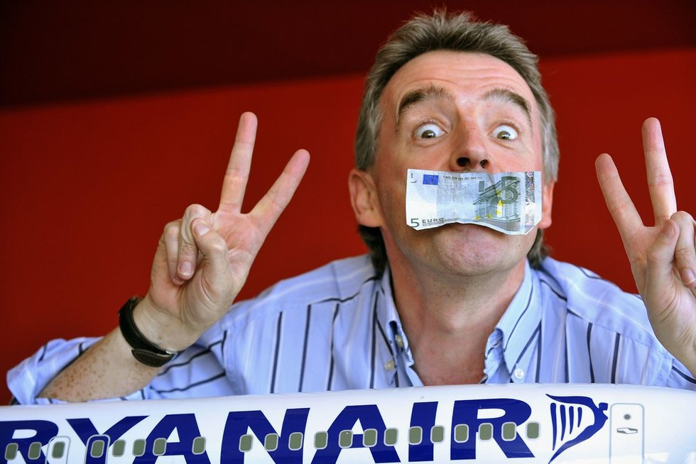 Ryanair vadovas (nuotr. SCANPIX)