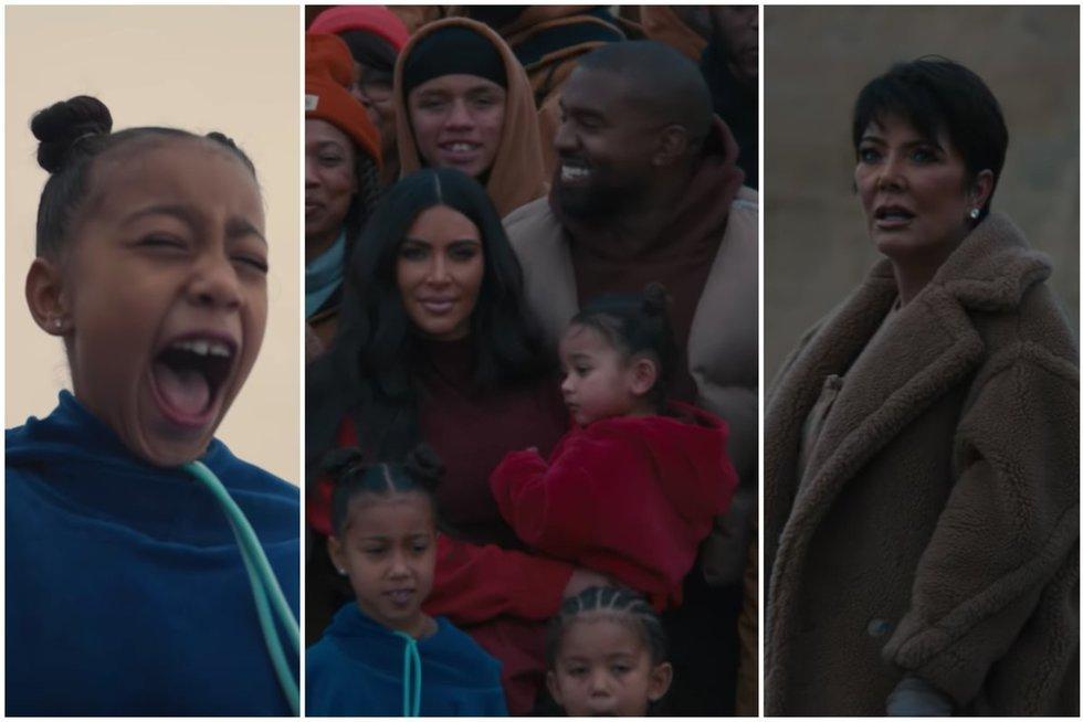 """Kanye West dainos """"Closed On Sunday"""" vaizdo klipo akimirkos (nuotr. YouTube)"""