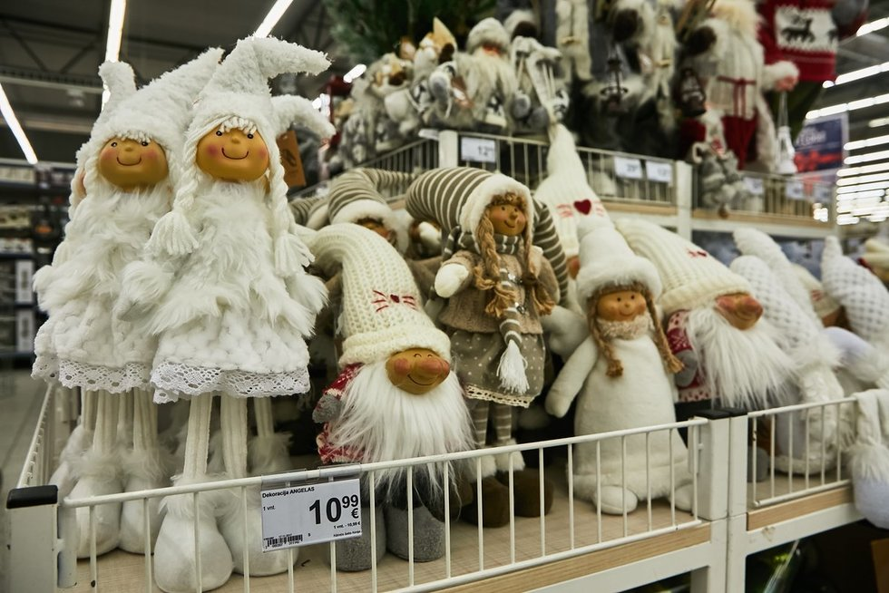 Kalėdinių prekių kainos (nuotr. Tv3.lt/Ruslano Kondratjevo)