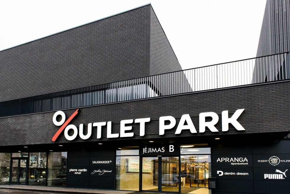 """Išparduotuvių centras """"Outlet Park"""" (nuotr. bendrovės)"""