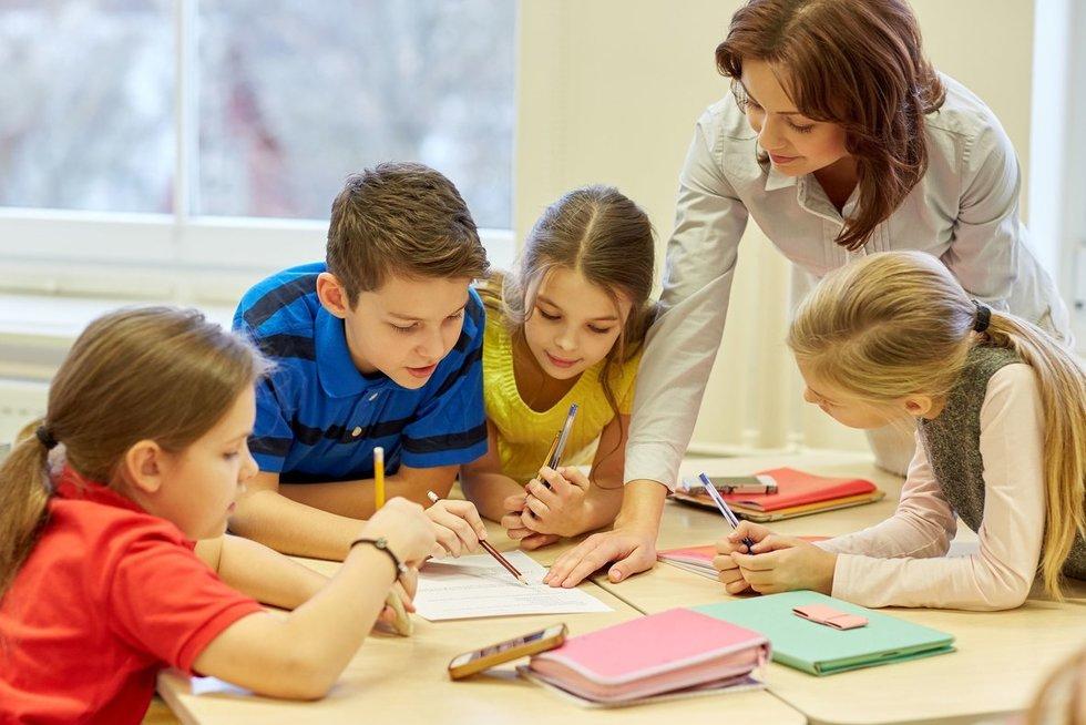 Klasėje (nuotr. 123rf.com)